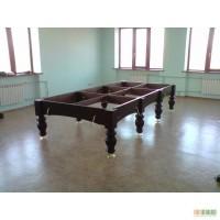 Перетяжка бильярдного стола, ремонт и сборка