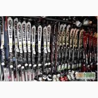 Продам б/у горные лыжи, ботинки, палки, шлемы, чехлы, маски.