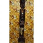 Статуэтка деревянная Маори высота 100см