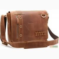 Продается шикарная актуальная мужская сумка - мессенджер, воловья кожа, винтаж