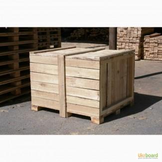 Тара деревянная, поддоны, барабаны, ящики и т.д.