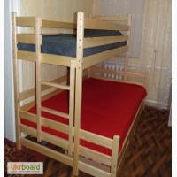 Двухъярусная трехместная кровать Бенжамин