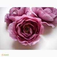 Искусственные цветы для заколок