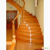 Деревянные лестницы из дуба/ясеня. Обшивка бетонных лестниц. Качественно, доступные цены