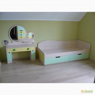 Детский шкаф, стенка, кровать, трюмо LOLA