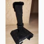Продам женские ботфорты из натуральной замши и меха ONDA VERDE зима б/у