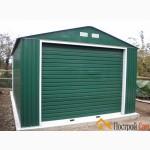 Забор из профнастила зелённый, профильный лист 6005