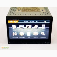 "2din Pioneer PI-803 7"" экран GPS-Mp3-Dvd-Tv/Fm-тюнер+8Гб карта"
