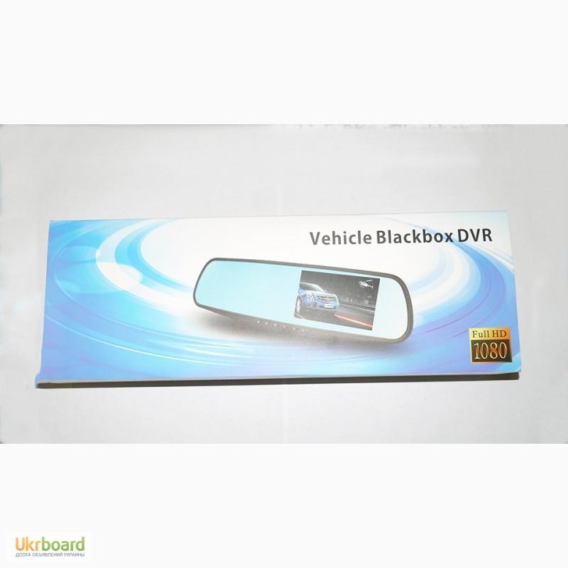 Фото 2. Зеркало с видео регистратором DVR L900 Full HD с камерой заднего вида