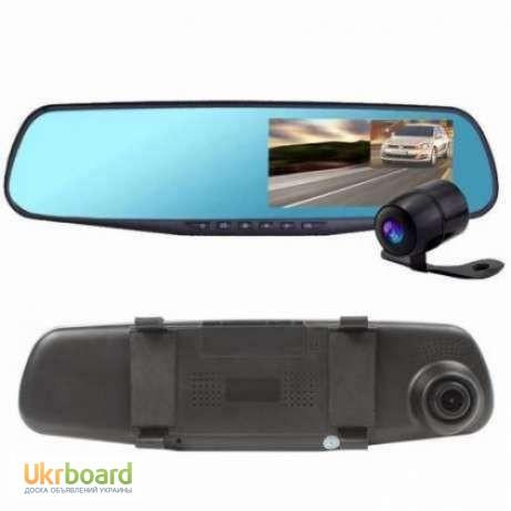 Фото 6. Зеркало с видео регистратором DVR L900 Full HD с камерой заднего вида