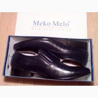 Туфли мужские кожаные новые meko melo