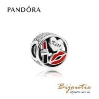 PANDORA шарм ― гламурный поцелуй 796324ENMX