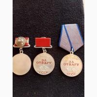 Продам медали За отвагу