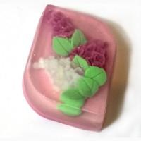 Мыло фигурное «Сирень» ручной работы