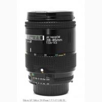 Nikon AF Nikkor 28-85mm 1:3.5-4.5 (MKII)