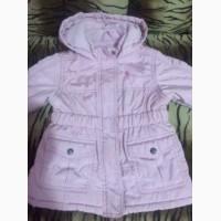 Куртка на девочку р 86-92