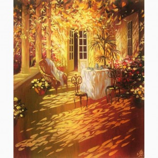 Картина масло Пейзаж Интерьер Натюрморт Осень Подарок маме девушке мужчине жене мужу Декор