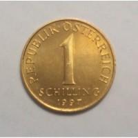Монета.Страна Австрия, 1 шиллинг, 1997