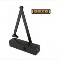Доводчик дверей Geze TS 2000 VВС коленная тяга (EN 2-5), чёрный