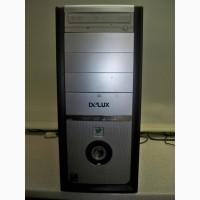 Продам системный блок, компьютер Delux/DDR2/без HDD