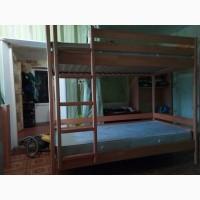 Продам двухярусную кровать бу в очень хорошем состояниии