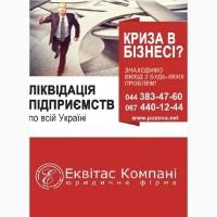 Експрес-ліквідація ТОВ під ключ Київ