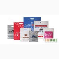 Пакеты полиэтиленовые, бумажные, конверты, визитки