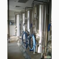 Линии для производства пива.