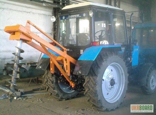 Продам ямобур (бкм) на базе мтз-82 купить в городе Омске