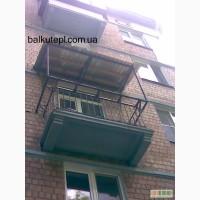 Перестроим балкончик в Балконище! Киев