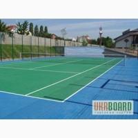 Строительство теннисного корта в Украине