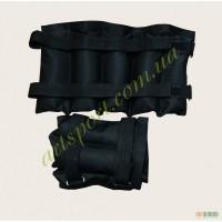 Утяжелители для рук и ног 5 кг кг (2 шт по 5 кг) регулируемый вес