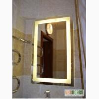 Зеркало с подсветкой на светодиодах в ванную