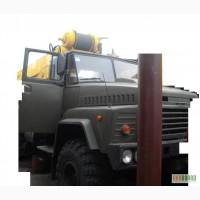 Продаем автокран bumar FAMABA DS-0183T, г/п 18 тонн, на шасси КРАЗ 260, 2010 г.в