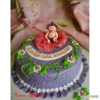 Детский торт Я люблю тебя, мамуля