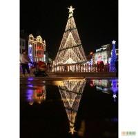 Гирлянда световая сетка светодиодная сеть на елку Киев купить цена