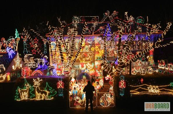 Фото 2. Новогодние led гирлянды светодиодные светящиеся световые купить оптом