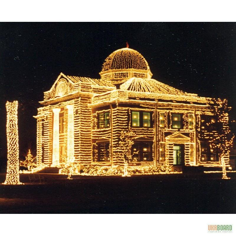 Фото 3. Новогодние led гирлянды светодиодные светящиеся световые купить оптом