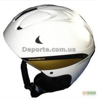 Шлем горнолыжный XQ MAX (MS-86W) бело-золотой