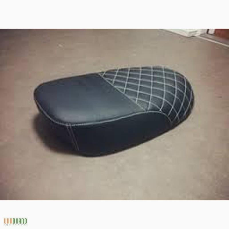 Пошив сидения на мотоцикл