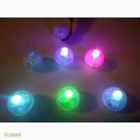 Светодиоды «ОРЕХ» 100 шт/уп для воздушных шариков. Светошарики Светящиеся шарики