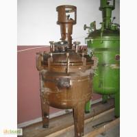 Реакторы нержавеющие, эмалированные, смесители, сборники, мерники