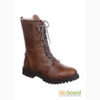 Продаю кожаные ботинки Lumberjack с высокой шнуровкой Италия-Индия