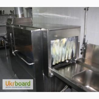 Продам конвеерную посудомойку без сушки OZTI б/у в ресторан, кафе, общепит, фастфуд