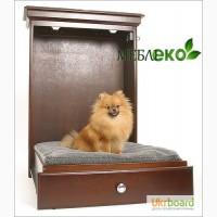 Кровать - шкаф для домашнего питомца, Кровать - трансформер для собаки