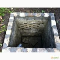 Сливная яма с кирпича