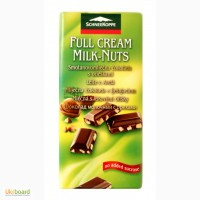 SchneeKoppe шоколад молочный с орехами - 100 гр