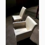 Продам светлые кресла из кожзама бу для кафе ресторанов клубов