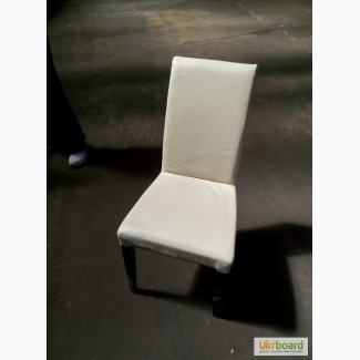 Продажа бу стульев бежевых из кожзама для кафе б/у