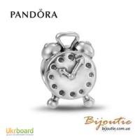 Оригинал Pandora шарм будильник 790449